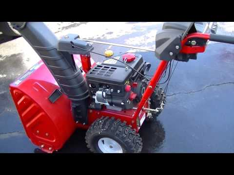 how to change auger belt on troy bilt snowblower