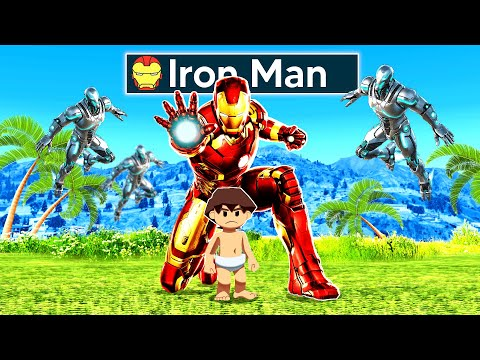 Adopted By IRON MAN In GTA 5!