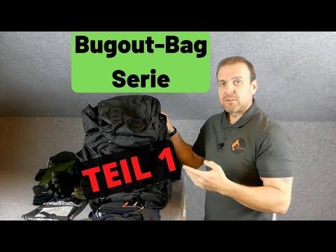 Bugoutbag Serie - TEIL 1 - Kleidung und Taschen!