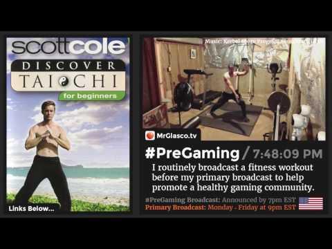 #PreGaming: Scott Cole Discover #TaiChi for Beginners DVD 💪