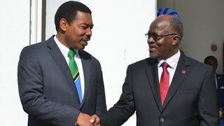 Rais Magufuli amtumbua Waziri  Mwigulu Nchemba