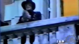 Michael Jackson Heal the world  balcón de la mansión Alzaga Unzué   #Argentina