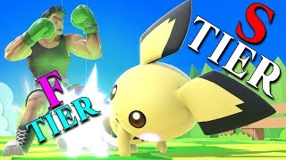 Inaccurate Smash Ultimate Tier Lists