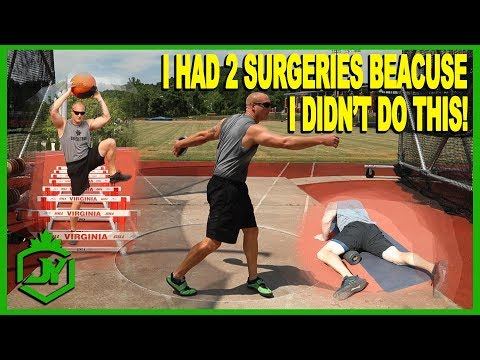 Injury Prevention & Treatment Tips For Throwers JY THROWS S2 E81