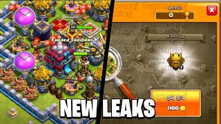 NEW UPDATE - New League System, New Map, New Townhall?