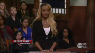 Americas Court Judge Ross Featuring Rose Marie Johnson Woman Gets Kicked Out Court See
