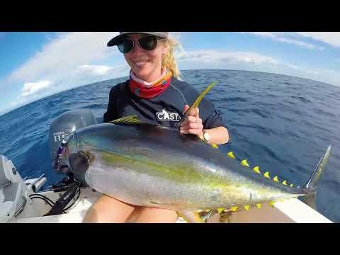 Vanuatu ocean blue fishing 2017
