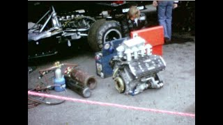 F1 Anderstorp 1973. the pit area Friday, race Sunday, + pictures of drivers and cars from this age
