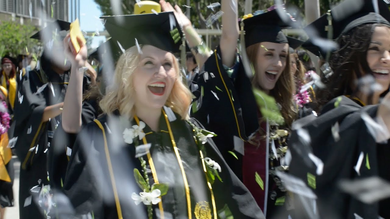 CSULB Commencement 2014 - YouTube