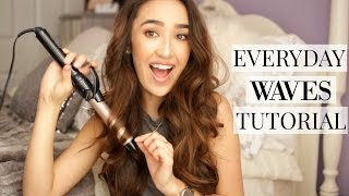 Everyday Loose Waves Hair Tutorial