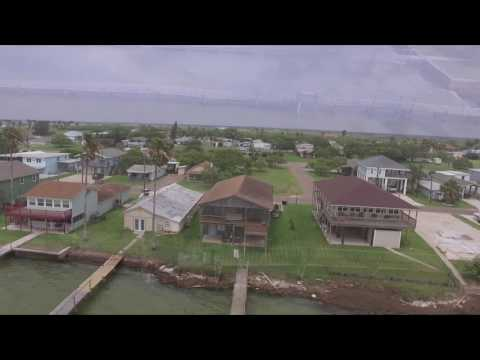 Flying over - Port Mansfield Texas