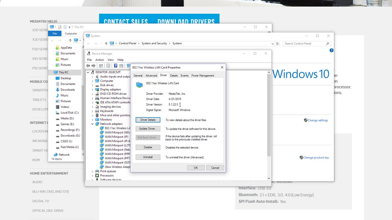 How To Install Netgear a6210 Drivers On Win10