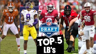 2020 NFL Draft Prospect Rankings: Linebackers | Blitzalytics Top 5 Draft Prospect Series