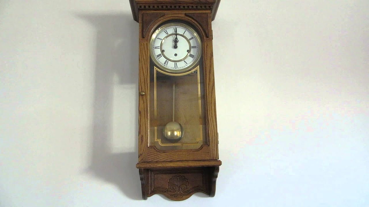 Howard Miller Wall Clock Westminster Chime Clock Ring 12