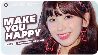 NIZIU (虹U/ニジユ) - Make You Happy // Album Distribution