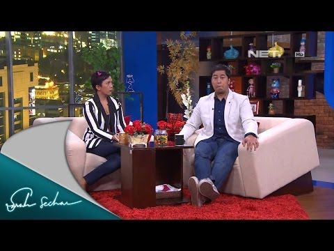 Sarah Sechan - Pandji Pragiwaksono - Tips sukses stand up comedy