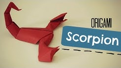 How to make an origami Scorpion (Jozsef Zsebe)