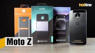 Moto Z — обзор одного из самых тонких в мире смартфонов