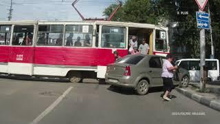 ДТП на Астраханской. Видео: Типичный Саратов