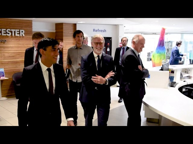 Worcester Bosch: UK Chancellor Rishi Sunak visit   Leaders Live Events
