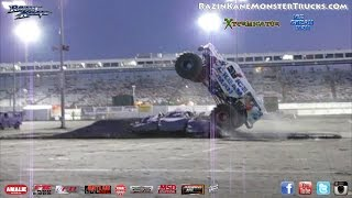 Jimmy Walker, the ICE CREAM MAN®, Knoxville, IA, 9/20/14-Monster Jam