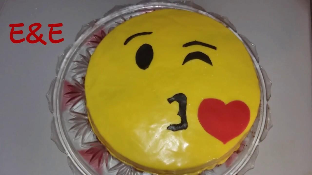 Beste Emoji Torte Der Welt Fondant Torte Kuchen Schokotorte E E