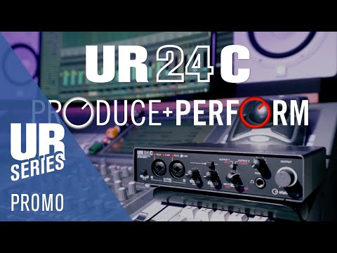 For Music Producers and DJs | UR24C USB 3.0 Audio Interface