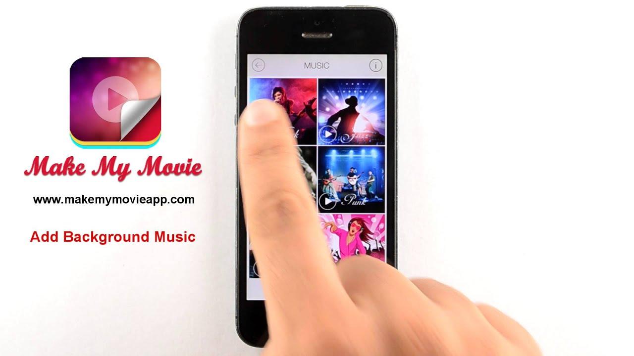 Create Photo Slideshow with Music FREE-MakeMyMovie App