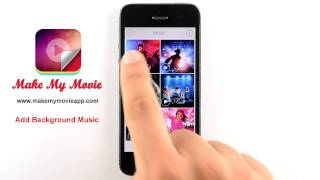 Create Photo Slideshow with Music FREE-MakeMyMovie App