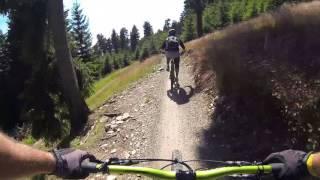 Trail Park Klinovec - Azur Trail - full run - 07.08.2016