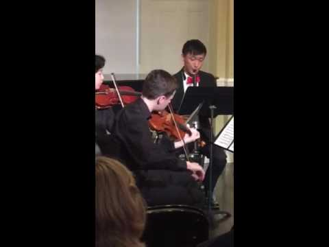 Edward Yeo - Senior Recital at Walnut Hill School for the Arts