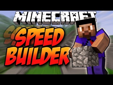 Minecraft SPEED BUILDERS #2 with Vikk, Rob, Preston & Kenny