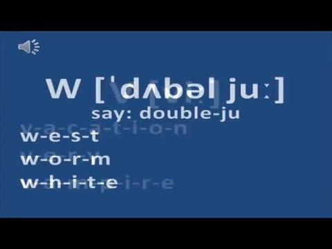 Cách Phát Ẩm Bảng Chữ Cái Tiếng Anh Chuẩn Nhất - Alphabet (ABC) Pronunciation