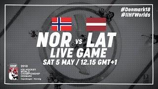 Norway - Latvia | Full Game | 2018 IIHF Ice Hockey World Championship