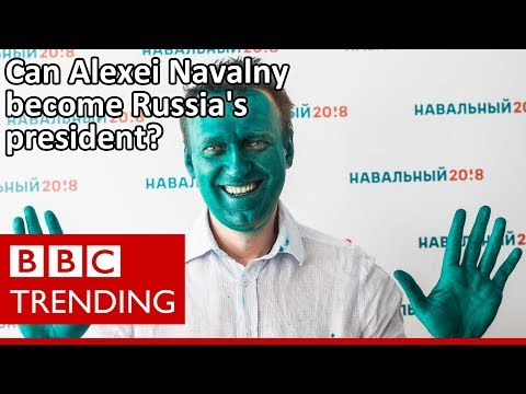 Inside Alexei Navalny's social media machine as he seeks to become Russia's president - BBC Trending