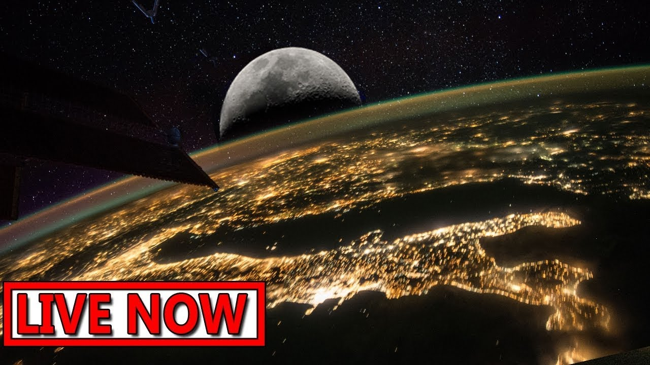 NASA - Earth From Space (HDVR) ♥ ISS LIVE FEED - Live 24/7 ...