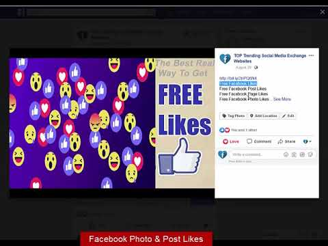 Free Facebook Likes | Facebook Page Likes | Best FB Auto Facebook Liker App & Exchange Sites