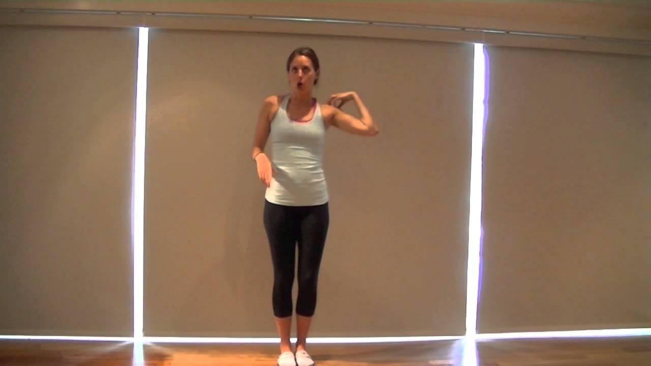 Waka waka dance tutorial 2nd grade talent show routine youtube.