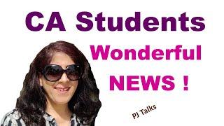 CA Syllabus Reduction - ICAI Notification / Announcement Awaited - PJTalks