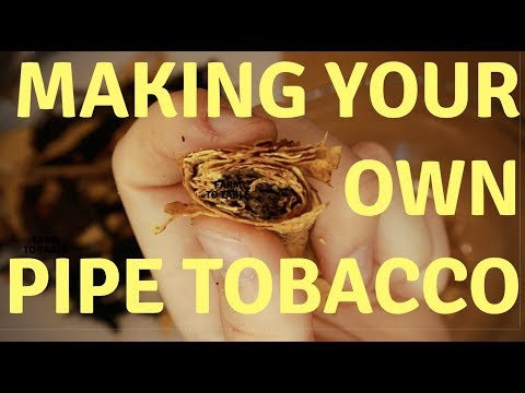 Leaf Only Unboxing: Making Your Own Pipe Tobacco Part: 1