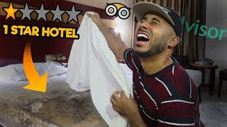 I STAYED At The WORST REVIEWED HOTEL In My City (DUBAI)