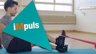 iMpuls: renforcer la musculature avant du tibia avec une bande élastique
