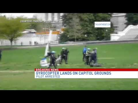 Gyrocopter pilot arrested