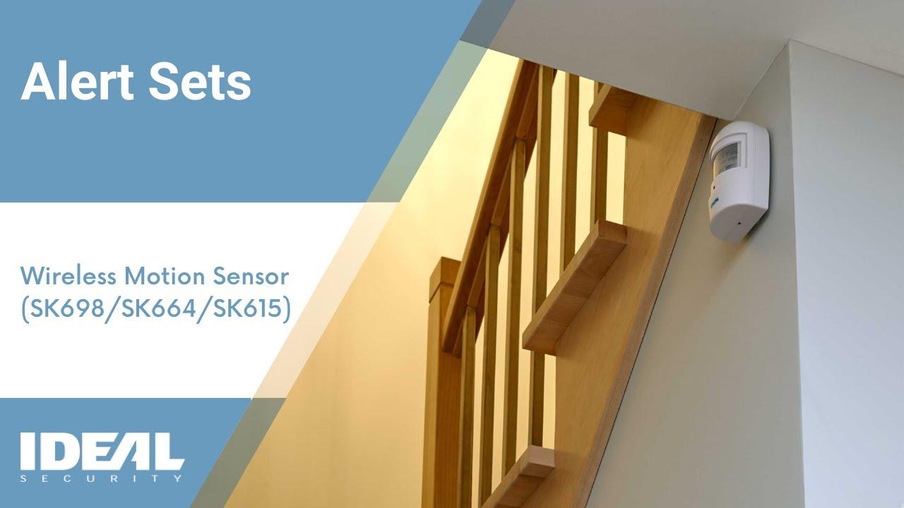 Ideal Security Sk698 Wireless Motion Sensor Alert Set