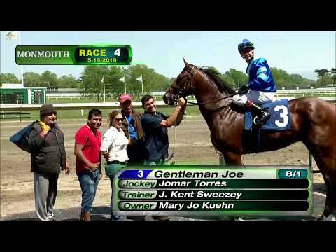 video thumbnail for MONMOUTH PARK 5-19-19 RACE 4