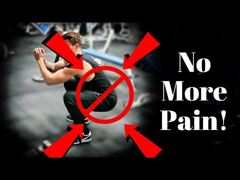 How To Squat WITHOUT Back Pain - Squat Checklist !
