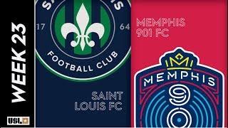 Saint Louis FC vs. Memphis 901 FC: August 6th, 2019