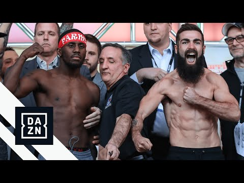 Matchroom Boxing Philadelphia Show Weigh-In