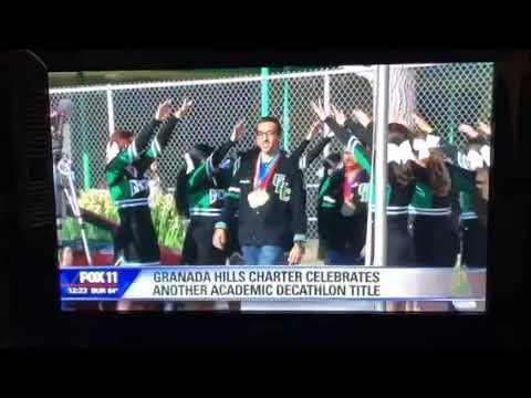 Granada Hills Charter High School won 7th National Academic Decathlon Championship April 27th, 2019