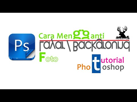 Cara Mengganti Latar/Background Foto dengan Photoshop CS6